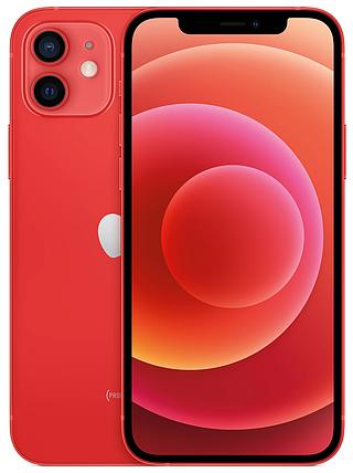 Смартфон Apple iPhone 12 Dual Sim 128GB PRODUCT Red (MGGW3), фото 2