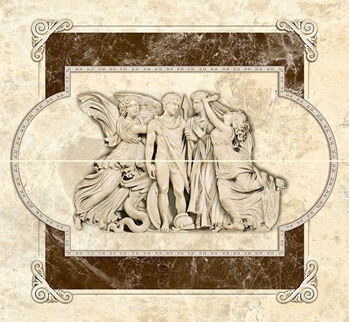 Декор настенный Эмперадор коричневый (Люди)