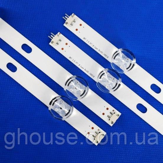 LED Підсвічування телевізора LG 47LB AGF78400901 6916L-1715A 6916L-1716A