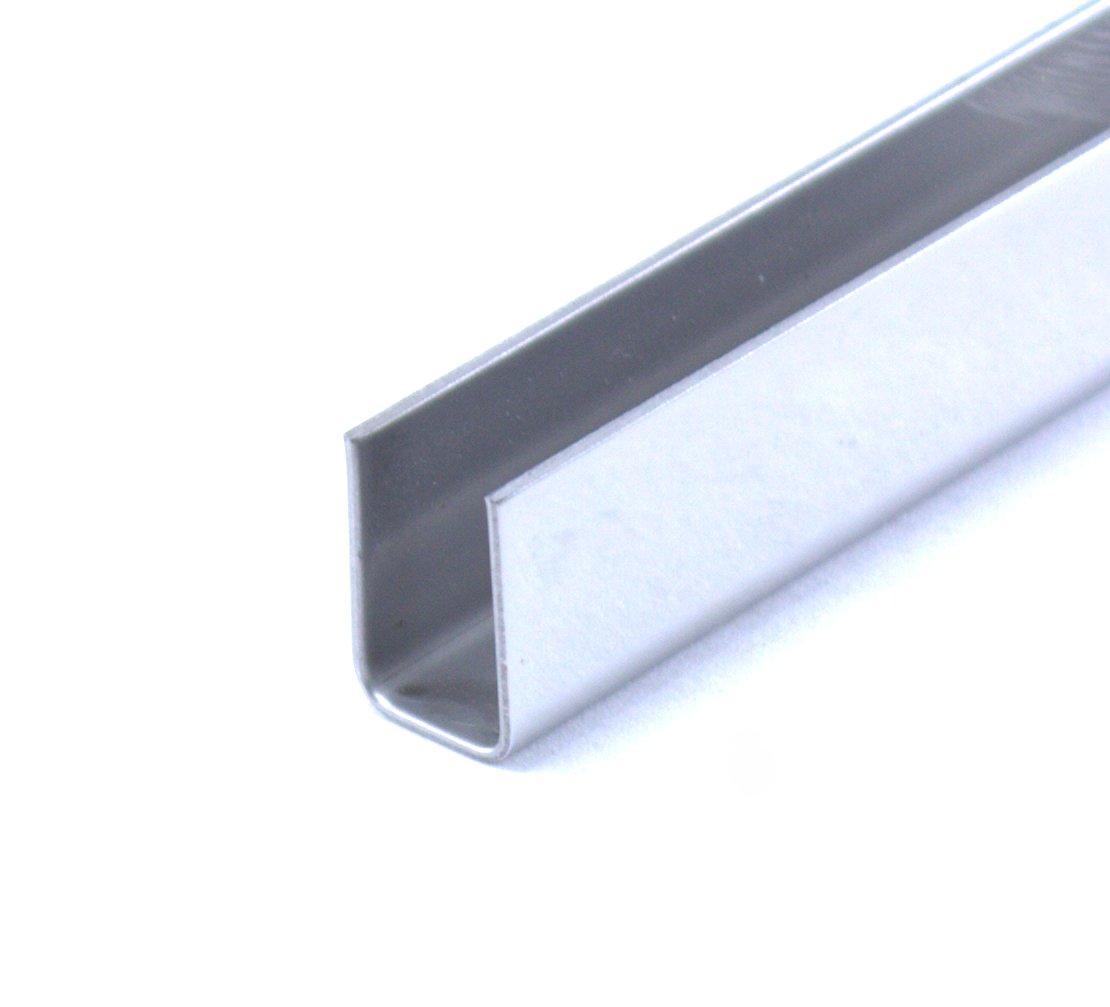 Профиль нержавеющий 10х15 мм  2,5 м