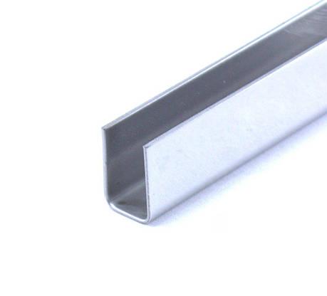 Профиль нержавеющий 10х15 мм  2,5 м, фото 2