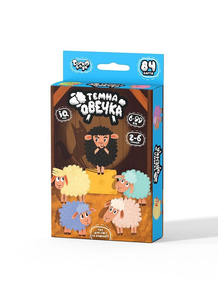 """Игра настольная Danko Toys """"Тёмная овечка"""" (Укр) (ТО-01-01U)"""