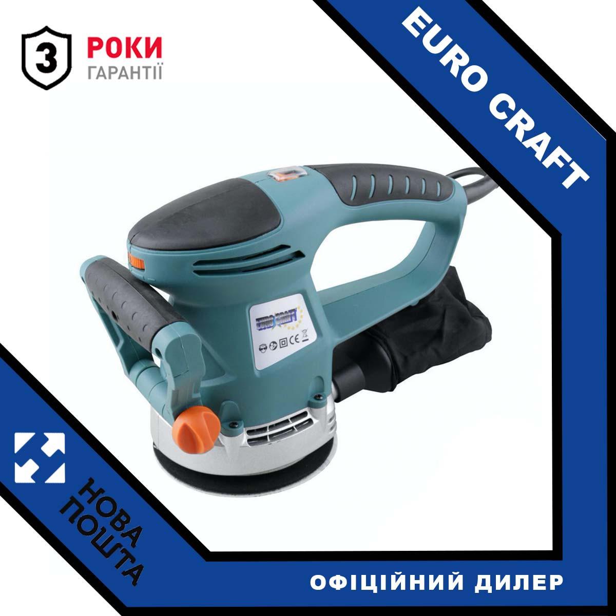 Вібраційна шліфмашина Euro Craft RS 204