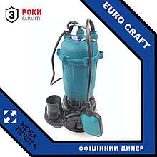 Дренажно-фекальный насос с ножами Euro Craft P234F