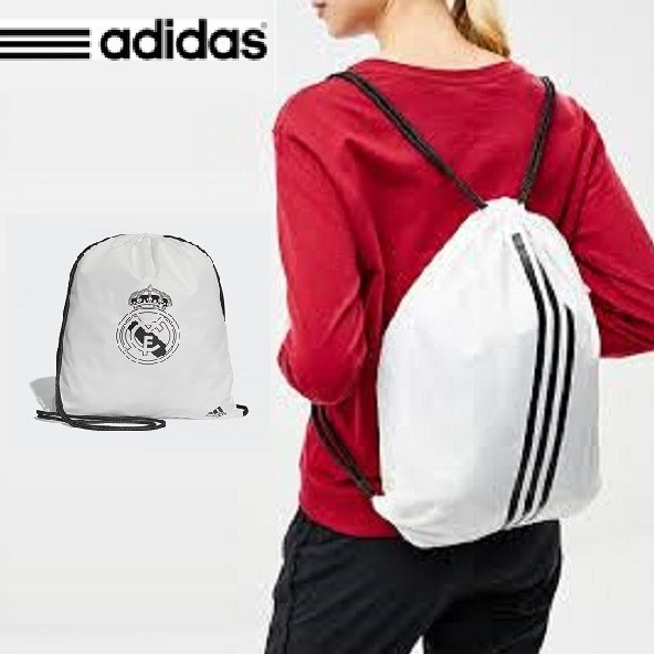 Сумка - рюкзак Adidas Real Madrid GB NS, White/Black