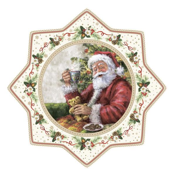"""Блюдо для торта """"Рождественское дерево"""" Easy Life 32 см R2070#CHTR"""