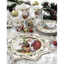 """Блюдо для торта """"Рождественское дерево"""" Easy Life 32 см R2070#CHTR, фото 2"""