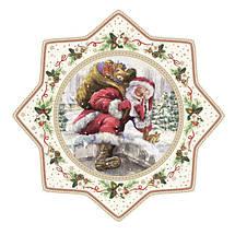 """Блюдо для торта """"Рождественское дерево"""" Easy Life 32 см R2070#CHTR, фото 3"""