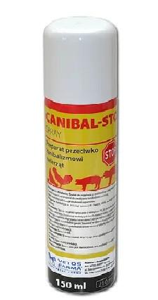 Канибал стоп - спрей(Аерозоль проти канібалізму у тварин ), 150 мл , (Польща)