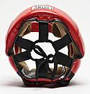 Боксерский шлем Leone Training Red L, фото 5