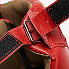 Боксерский шлем Leone Training Red L, фото 8