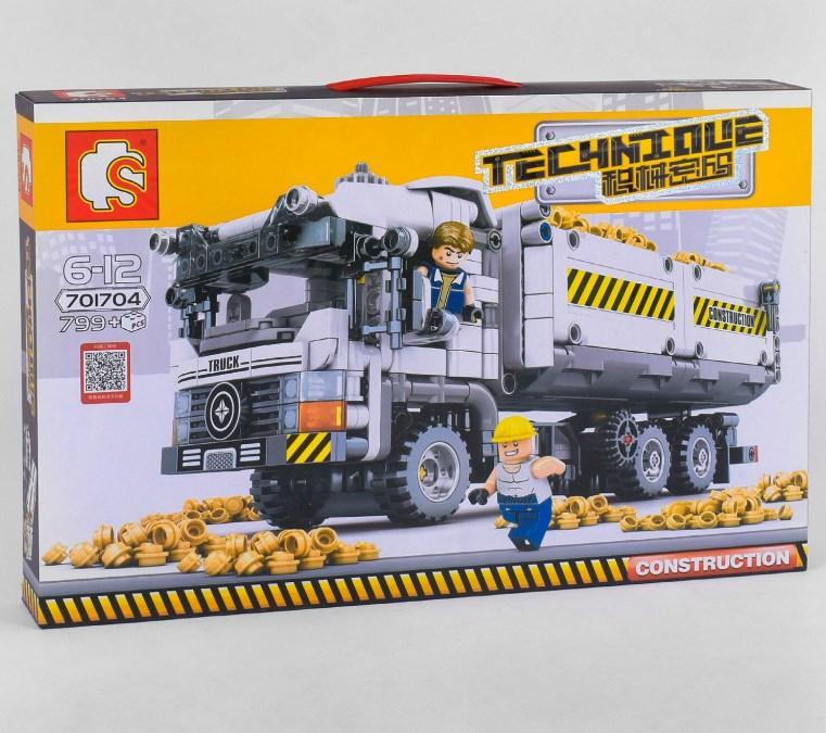 Конструктор 701800  665 элементов, в коробке