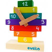 """Игрушка из дерева Детский конструктор """"Часы"""" CUBI_14354 Cubika"""