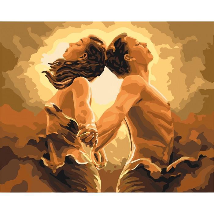 Картина рисование по номерам Идейка Единий подих КНО4642 40х50см набор для росписи, краски, холст, кисти