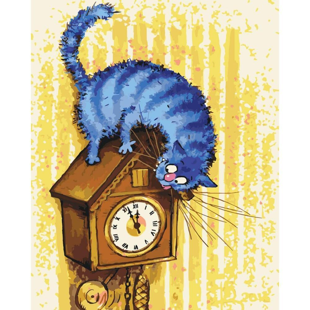 Картина рисование по номерам Идейка 5 хвилин КНО4083 40х50см набор для росписи, краски, холст, кисти