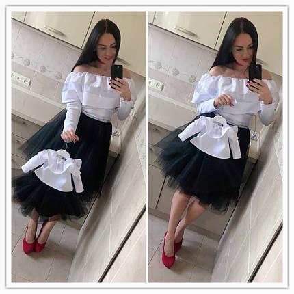 Однаковий вбрання для мами і доньки, фото 2