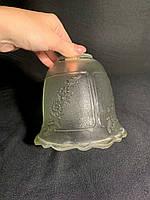 Плафон прозрачный с узором Е27, фото 1