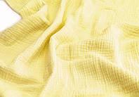 Муслин жатка Лимонно-желтый 135 см, фото 1