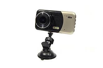 """Видеорегистратор DVR T652 4"""" Full HD с выносной камерой заднего вида+ПОДАРОК!"""