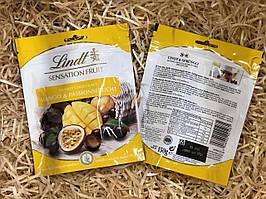 Конфеты Lindt Sensation Fruit Mango  Passionsfrucht 150г