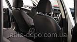 Чехлы на сиденья Skoda Fabia III 2015- (з/сп и сидение раздельные) Nika полный комплект, фото 6