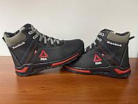 Женские зимние ботинки черные (код 4050)