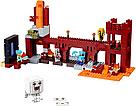 """Конструктор BELA Minecraft """"Підземна фортеця"""" 571 деталь , фото 2"""