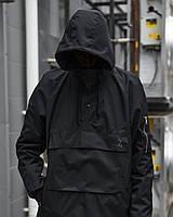 Ветровка-анорак мужская Пушка Огонь Wildscar черная