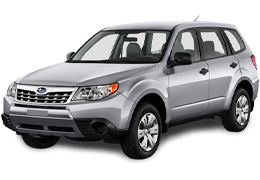 Багажник на дах для Subaru (Субару) Forester 3 2007-2012