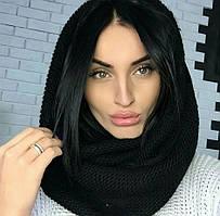 Жіночий теплий шарф хомут