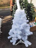 Елка искусственная новогодняя ПВХ белая, фото 1