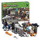 """Конструктор майнкрафт BELA Minecraft """"Портал края"""" 577 деталь , фото 3"""