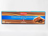 Шоколад Dolciando Svizzero Al Late , 300 гр