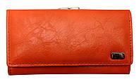 Кошелек женский оранжевый сделанный из искусственной кожи к 425, фото 1