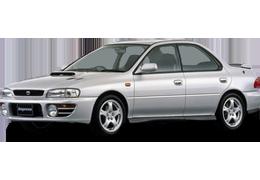 Багажник на крышу для Subaru (Субару) Impreza 1 1992-2000