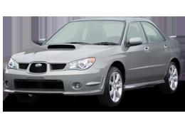 Багажник на крышу для Subaru (Субару) Impreza 2 2000-2007