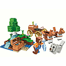 """Конструктор майнкрафт  BELA Minecraft """"Повозка"""" 162 детали , фото 2"""