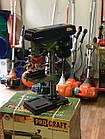 Свердлильний верстат ProCraft BD-1750 16мм Патрон + Тески в комплекті, фото 3
