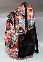 Рюкзак школьный ортопедический для девочки в 2-4 класс оранжевый Dolly 530, фото 3
