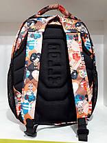 Рюкзак школьный ортопедический для девочки в 2-4 класс оранжевый Dolly 530, фото 2
