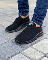 Мужские кеды ПП Носок черные