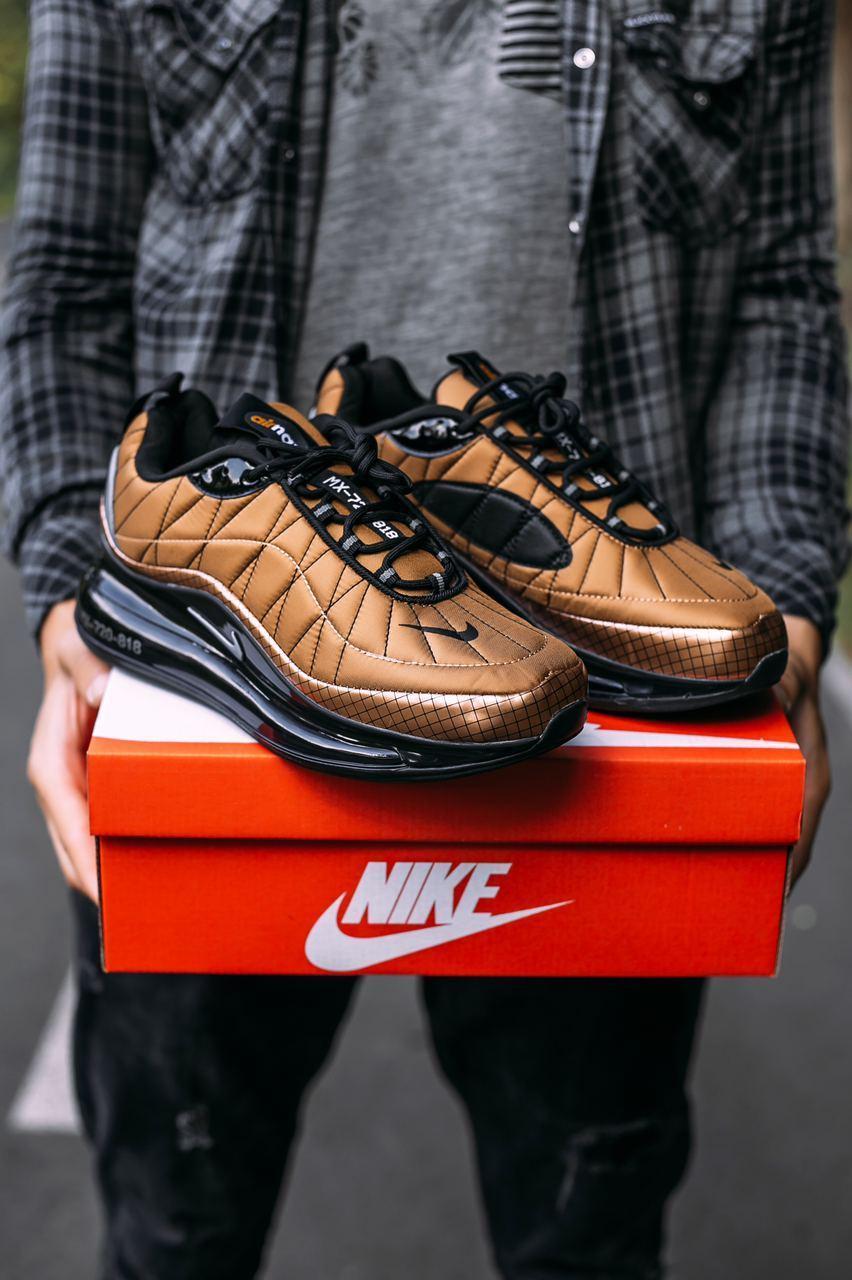 """Кроссовки мужские Nike MX-720-818 """"Copper / Black"""""""