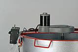 """Медогонка 2-х рамкова поворотна алюмоцинковая з ремінним електроприводом """"Pulse"""" мод.1, фото 3"""