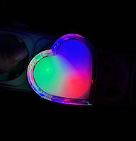 Детский ночник сердечко LED, фото 1