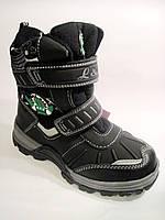 Детские / подростковые зимние термо-ботинки  для мальчика, размер 33-38