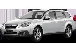 Багажник на крышу для Subaru (Субару) Outback 4 (BM) 2009-2014