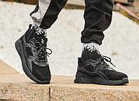 Кросівки чоловічі замшеві Пушка Огонь Step чорні, фото 1