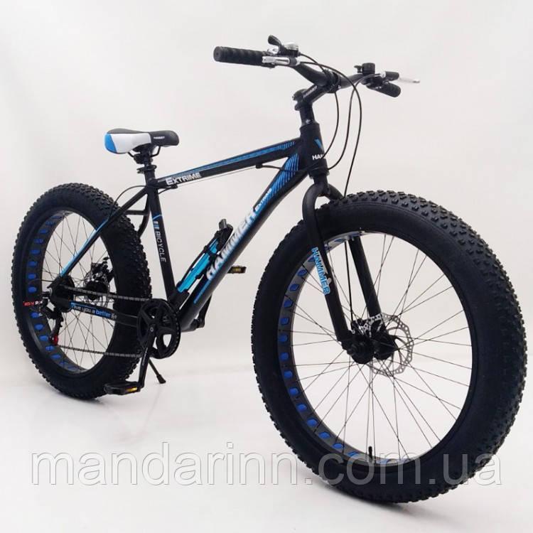 Фэт Байк-Горный Велосипеды HAMMER EXTRIME S800 MAX Колёса 26 Алюминиевая рама 19 Shimano