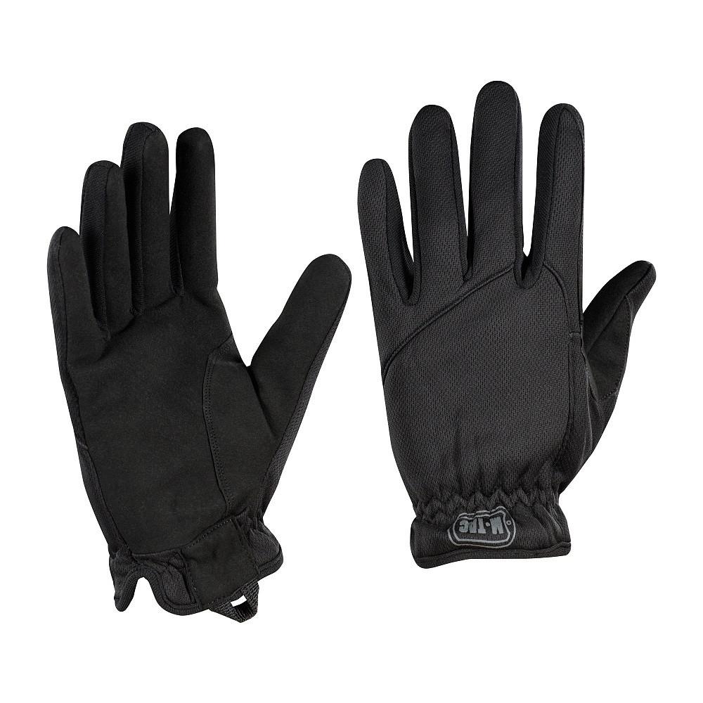 Тактичні рукавички M-Tac рукавички Scout Tactical Mk.2 Black чорні