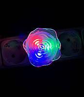 Дитячий нічник троянда LED, фото 1